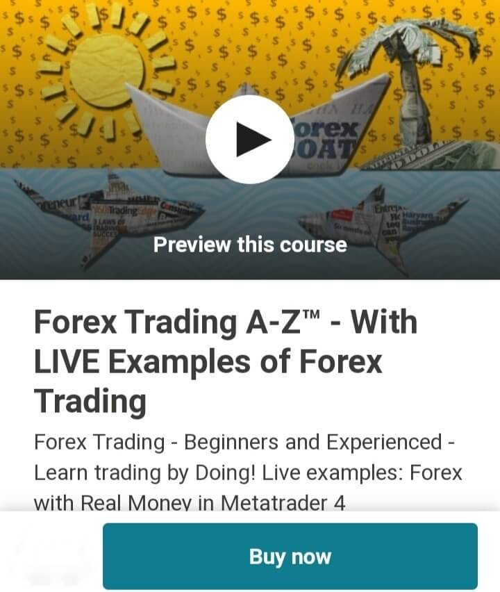 Forex Trading A-Z™ course